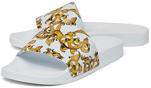 Chancla SIKSILK Venetian White & Gold 11
