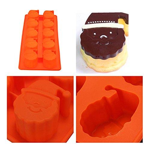 Bazaar Kerstman hoofd taart schimmel chocolade schimmel