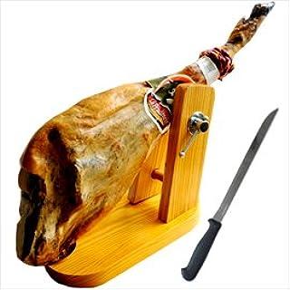 スペイン産/旧レアルスペインハモンイベリコ協会認定品!ハモンイベリコレセボグランレゼルバ36ヶ月熟成骨付き原木セット(ドングリ食べてます)(メゾンタイプの.