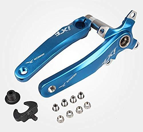 MTB - Brazo de aluminio para bicicleta de montaña (170 mm, 104 BCD)