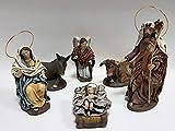 Arte Pesebre Nacimiento en Barro lienzado para Figuras de 17 cm