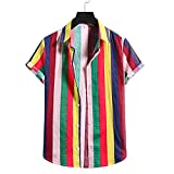 SSBZYES Camisas para Hombres Verano De Manga Corta Camisas Informales para Hombres Camisas De Flores para Hombres Código Europeo Moda Estampado...