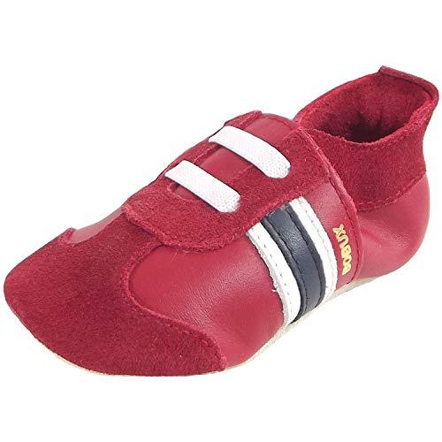 Bobux Sport Classic 1000-068 Baby Krabbelschuhe, rot (red), Gr. 20-21 EU/L / 15-21 Months