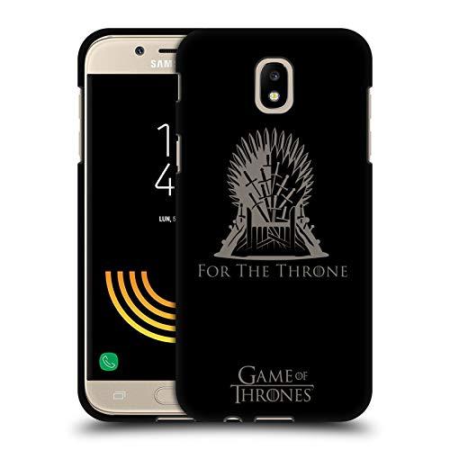 Head Case Designs Ufficiale HBO Game of Thrones Sedile in Ferro Vettore Stagione 8 per Il Trono Arte Cover Nera in Morbido Gel Compatibile con Samsung Galaxy J5 (2017)