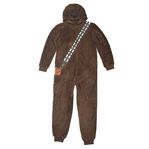 STAR WARS Chewbacca Costume One-Piece Pajama for Adults, Size M