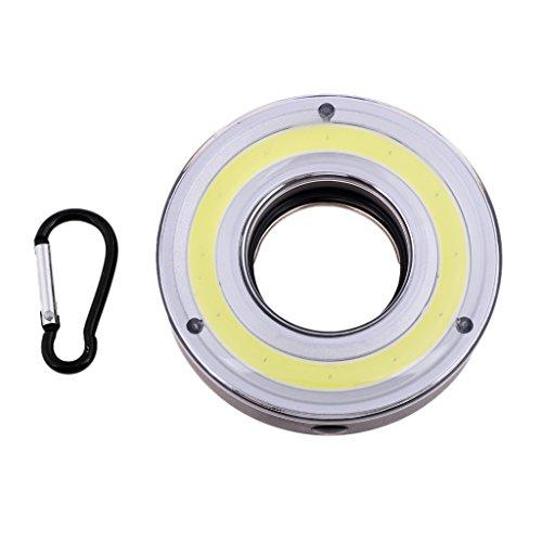 F Fityle Linterna Ultrabrillante de La Tienda de Campaña de La Luz del Trabajo de Emergencia de La COB LED con El Gancho