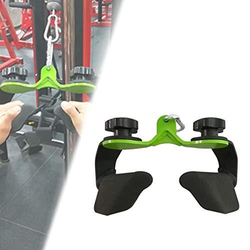 HIMAmonkey Zubehör Kraftstation Parallelgriff, Rudergriff Eng Mit Drehgelenk Für Bodybuilding Krafttraining Fitness Training Gym Sport (Ergogriffe)