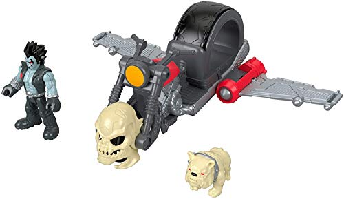 Fisher-Price DC Comics Imaginext DC Super Friends Lobo & Cycle