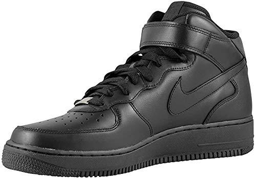 Nike Air Force 1(Gs) Scarpe da basket per bambini Nero Size: 36.5 EU