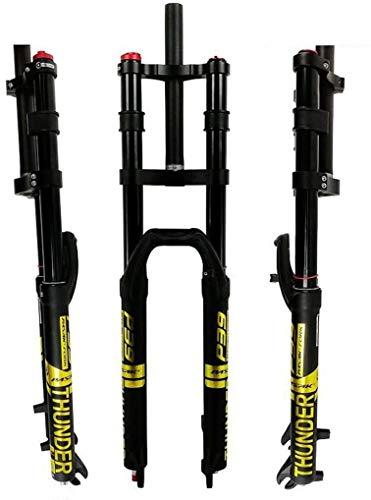 ZQN 26/27,5/29 Air MTB Federgabel, DH Bike Federgabel, Ultralight Damping Air Federgabel MTB 1-1/8