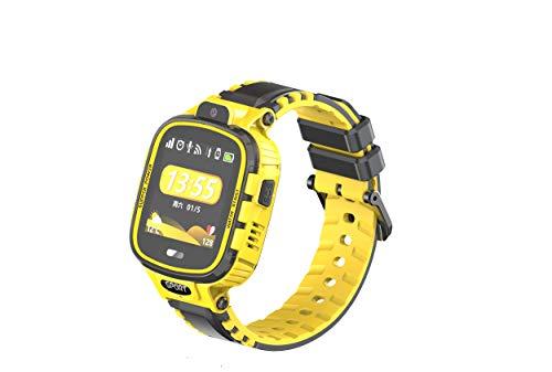 Simmotrade® GPS Tracker Uhr für Kinder mit Telefon, Notruf, Wasserdicht. GPS Tracker Shop Simmotrade (ge/sw)