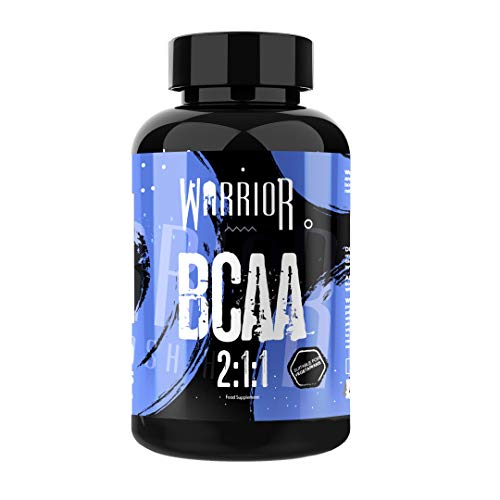 Warrior Supplements BCAA Branched Chain Amino Acids 2:1:1 60 Tabs