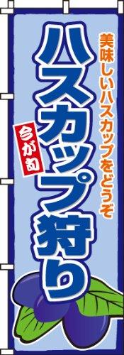 のぼり ハスカップ狩り 0100243IN