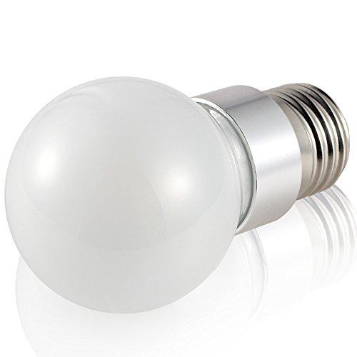 LU Ampoules LED E27 Ampoule à vis 3W5W Ampoule LED SMD Perles (Couleur : Blanc Chaud, Taille : 3W)