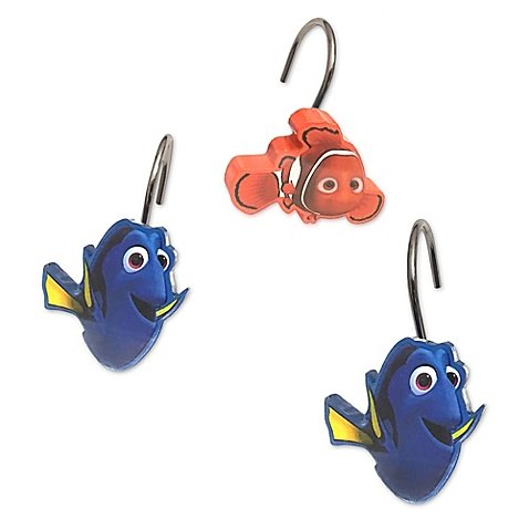Finding Dory Adoryble Shower Curtain Hooks (Standard Version)