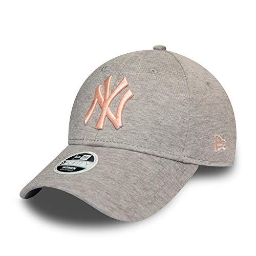 New Era Herren 9Forty Essential New York Yankees Kappe, Grey, One Size, 12285212