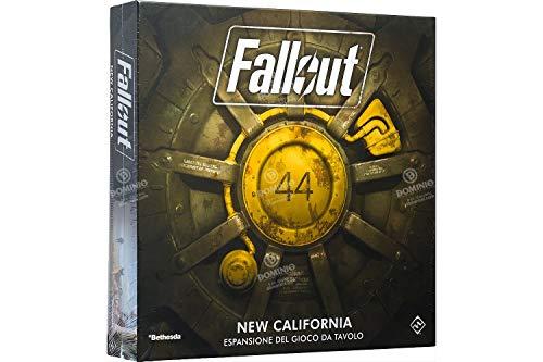 Asmodee - Fallout New California - Juego de Mesa, 9811