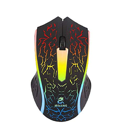 Peanutaoc Professionele Wired Gaming Mouse 3 Knop 1000 DPI LED Optische USB Computer Muis Gamer Muizen Game Muis Stille Mause Voor PC