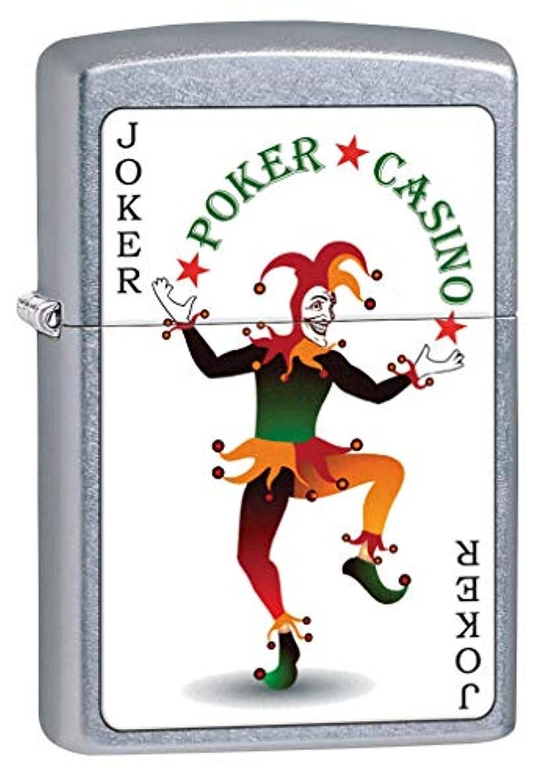 Zippo Lighter: Joker Card, Poker and Casino - Street Chrome 80220