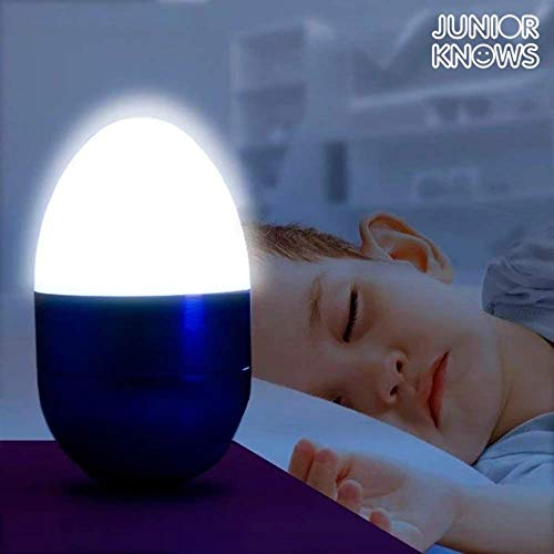 Out of the Blue 579635 – Veilleuse avec 5 LED, Wobble env. 6,5 cm Couleurs assorties