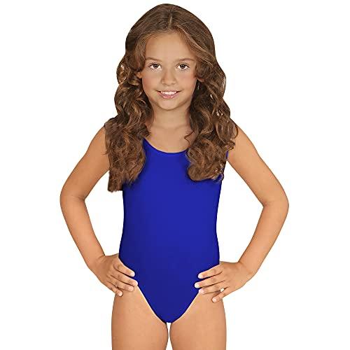 Widmann 04220 - Kinderkostüm Body Ärmellos, blau, Overall
