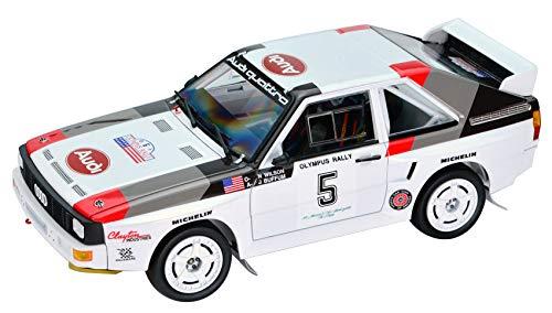 プラッツ/NuNu 1/24 レーシングシリーズ アウディ S1 1986 オリンパスラリー プラモデル PN24023