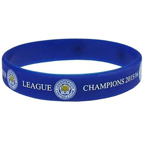 Leicester City F.C. Braccialetto In Silicone Campioni Merchandise Ufficiale