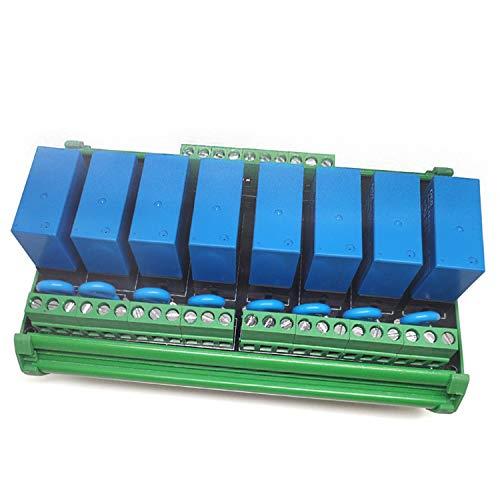 YEZIL Electronic Accessories Module 8-Channel Relay Socket Eight...