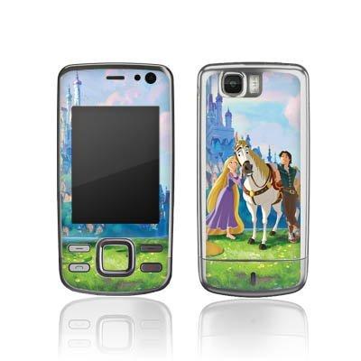 Nokia 6600i Slide Aufkleber Schutz Folie Design Sticker Skin Disney Rapunzel verföhnt Merchandise Geschenke