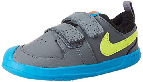Nike Pico 5 TDV, Zapatillas Unisex Niños, Gris (Smoke Grey/Lemon Venom-Laser Blue),...