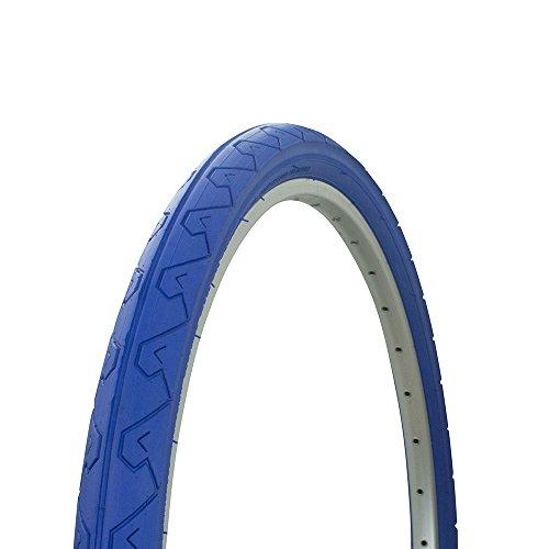 Fenix Slick Tread Bicycle Tire, 26 x 1.95, (Blue)
