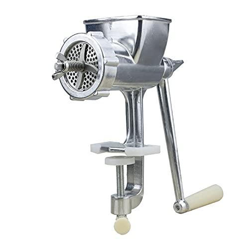 YUCHENGTECH Máquina de pellets de alimentación manual Herramienta de fabricación de alimentos para mascotas con moldes de 4 mm / 5 mm / 6 mm / 7 mm