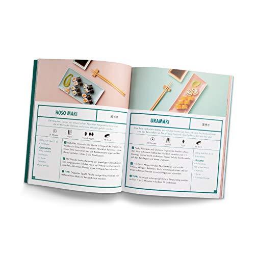 Reishunger Sushi Kochbuch - 25 Sushi Rezepte aus aller Welt - Große Vielfalt: Fisch-, vegetarische & vegane Rezepte