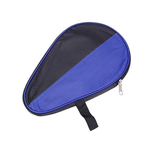 Funda para raqueta de tenis de mesa, impermeable, portátil, para ping-pong, pádel, color azul