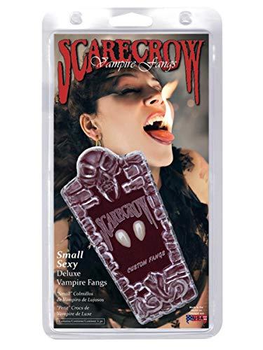 SMIFFYS Smiffy's Love Bite, si fissa sui denti con adesivo Donna, Bianco, 36801