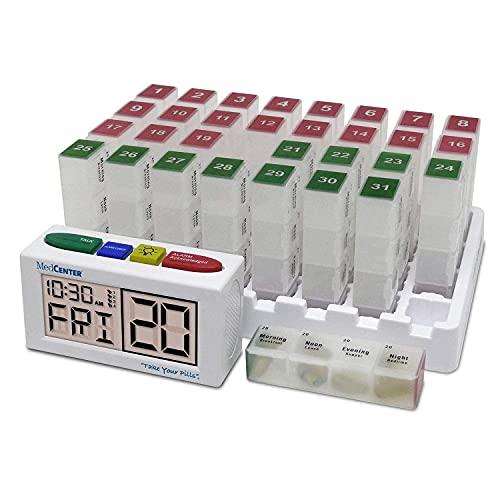 4. MedCenter Monthly Pill Organizer