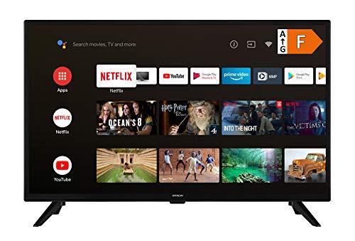 HITACHI HA32E2250 80 cm (32 Zoll) Fernseher (HD Ready, Android TV, Prime Video, Triple-Tuner, PVR-Ready)