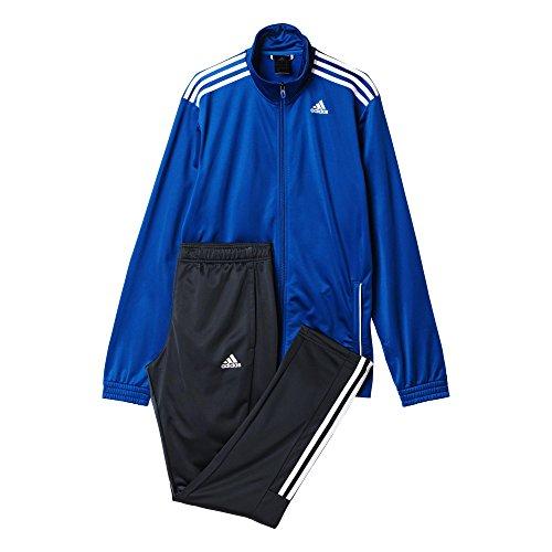 Adidas TS Entry Survêtement Homme, Bleu/Gris/Eqtazu/Griosc/Blanc, FR (Taille Fabricant : 162)