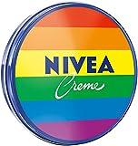 NIVEA Creme Dose klassische Feuchtigkeitscreme für alle Hauttypen, reichhaltige Hautcreme mit pflegendem Eucerit, 30 ml, Verpackung kann variieren