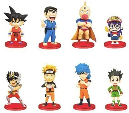 J STARS World Collectible Figure Vol.1 45 anniversary animation prize Banpresto (with all eight Furukonpu set + bonus)