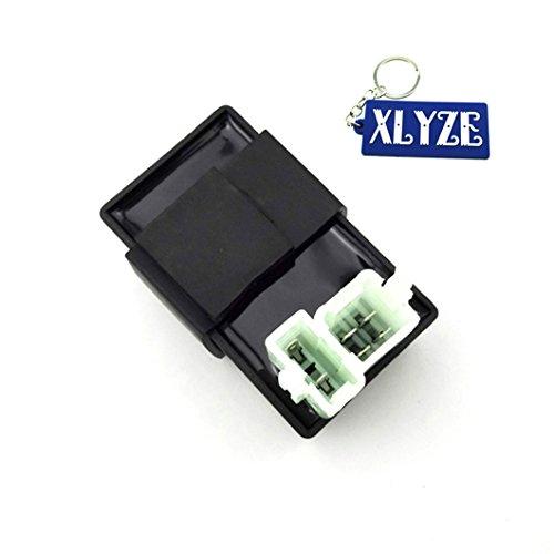 XLYZE 6 Pin AC CDI Ignition Box para 150cc 200cc 250cc Chinese ATV Quad Go Kart Buggy y 50cc 70cc 90cc 110cc 125cc 140cc 160cc Dirt Pit Bike