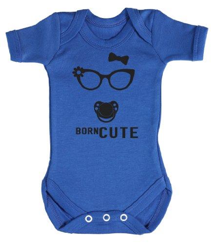 Baby Buddha - Born Cute Bodys bébé 0-3 Mois Bleu