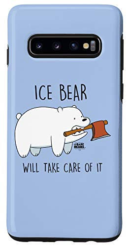Galaxy S10 We Bare Bears Take Care of It Case