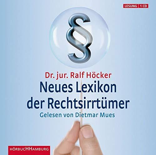 Neues Lexikon der Rechtsirrtümer: 1 CD