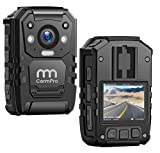 1296P HD Police Body Camera,128G Memory,CammPro Premium Portable Body Camera,Waterproof Body-Wo…