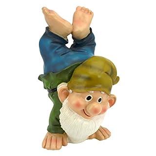 Garden Gnome Statue Handstand Henry