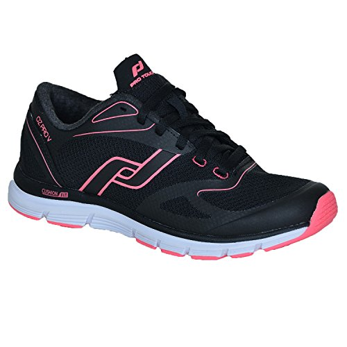 Pro Touch Pro Touch OZ Pro V W Damen Laufschuhe Schuhe Women Black/Pink, Schuhgröße:37
