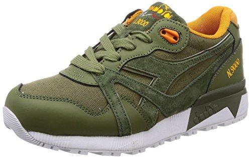 Diadora N9000 Cvsd, Chaussures de Gymnastique Homme, Vert (Verde Rosmarino), 42.5 EU