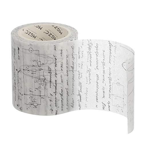 TomaiBaby 1 Rollo Vintage Washi Tape Fórmula Papel Decorativo DIY Adhesivo Scrapbook...