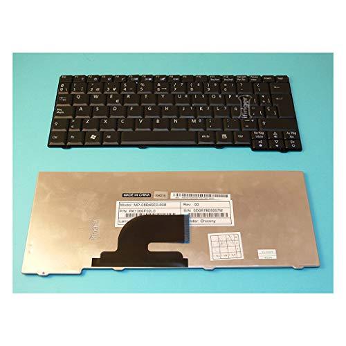 IFINGER Teclado Compatible DE Y para PORTATIL Acer Aspire One KAV60 EN...